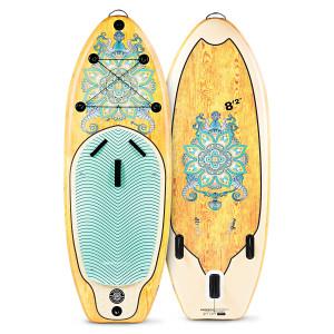 WBXs250 SUP Board Yoga Mandala
